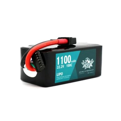 Acehe Ace-X 1100mah 22.2v 100c 6s1p Lipo Battery Pack with XT60 Plug